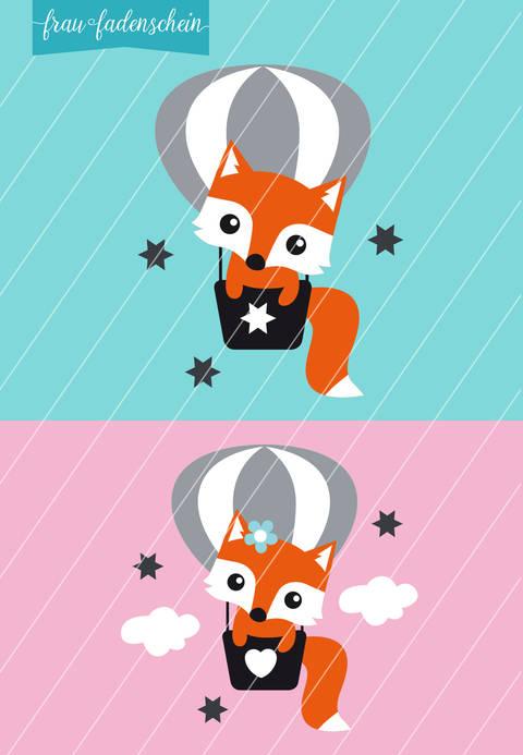 Applikation Foxy Fuchs – Fly Away: Vorlage & Anleitung bei Makerist sofort runterladen