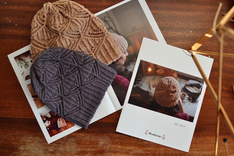 Download Art Deco - Knitting - Knitting Patterns immediately at Makerist