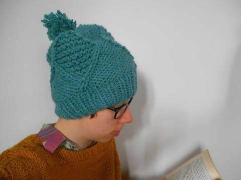 Download Farigaig Hat - Knitting immediately at Makerist