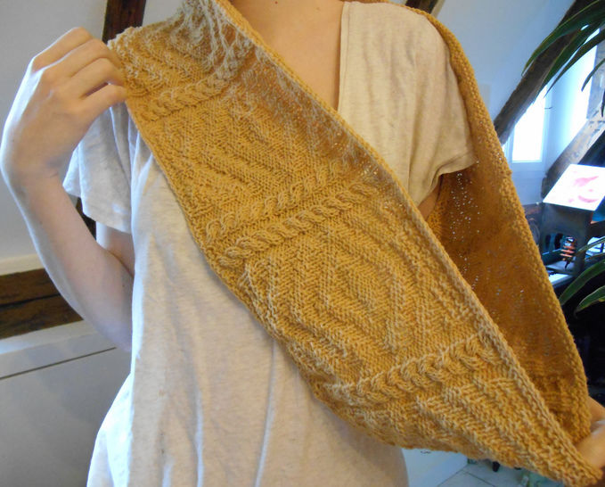 Download Pouldohan Cowl - Knitting - Knitting Patterns immediately at Makerist