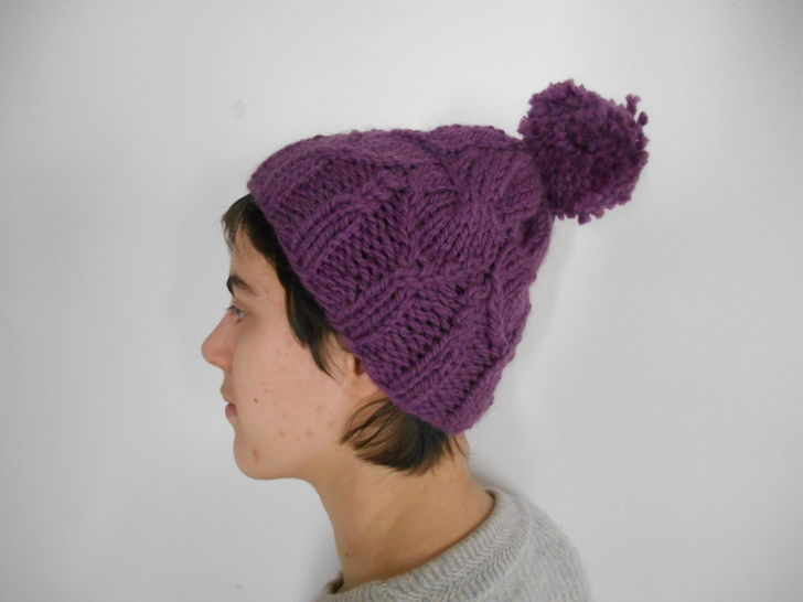 Download Padova Hat - Knitting - Knitting Patterns immediately at Makerist