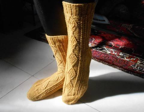 Download Verdon Socks - Knitting immediately at Makerist