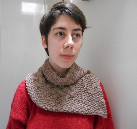Download Grisou Scarf - Knitting - Knitting Patterns immediately at Makerist