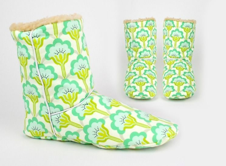 Download Sewing pattern boots |room shoes - Sewing Patterns immediately at Makerist
