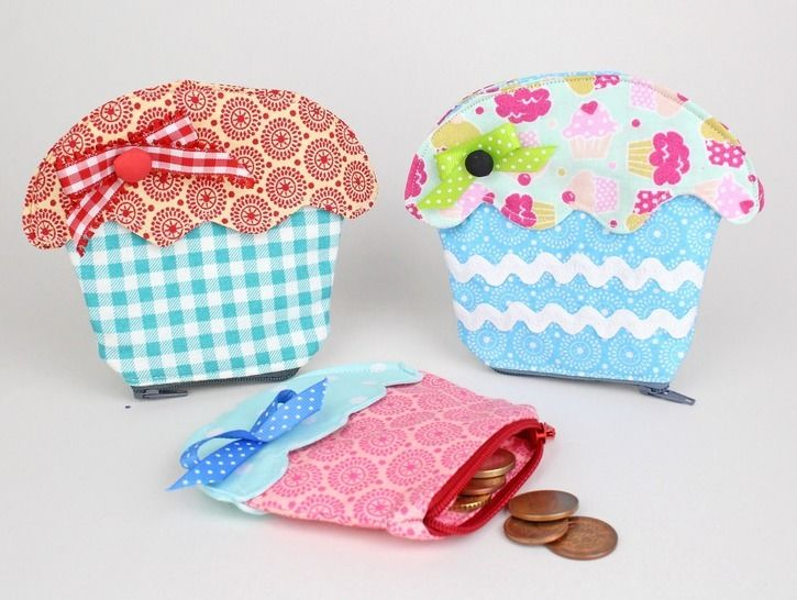 Sew Cupcake Purse | tutorial & sewing pattern