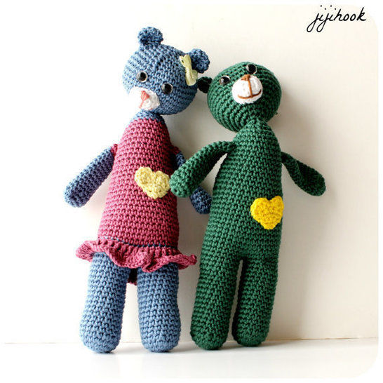 Download Teddy Bear - Crochet - Crochet Patterns immediately at Makerist