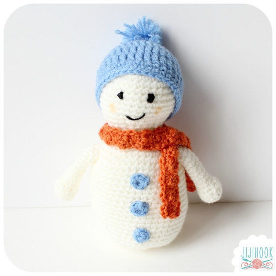 Download Snowman - Crochet  - Crochet Patterns immediately at Makerist