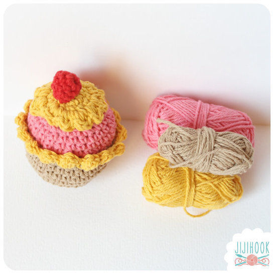 Download Cupcake - Crochet - Crochet Patterns immediately at Makerist