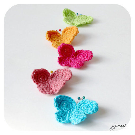 Download Butterflies - Crochet - Crochet Patterns immediately at Makerist