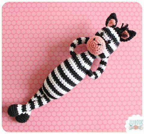 Download Zebra Crochet Pattern immediately at Makerist