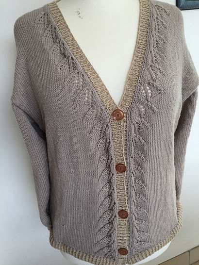 Download Disoux cardigan - Knitting Patterns immediately at Makerist
