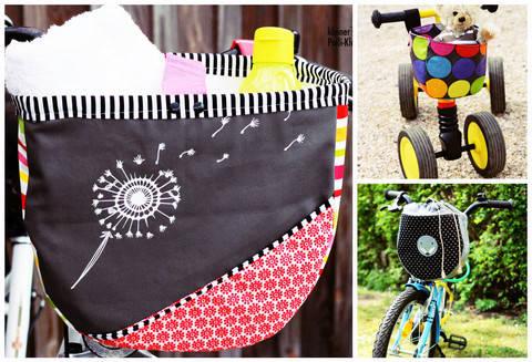 "Fahrradtasche ""drive&carry"" (Kombiebook L/M/S) bei Makerist sofort runterladen"