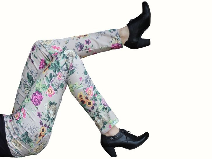 Download pdf sewing pattern treggings - AnniNanni Treggings - womens trousers - Sewing Patterns immediately at Makerist
