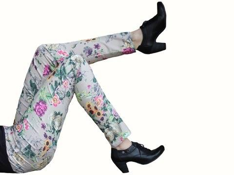 Download pdf sewing pattern treggings - AnniNanni Treggings - womens trousers immediately at Makerist