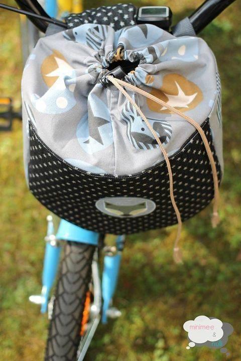 """Fahrradtasche """"drive&carry"""" (Größe MEDIUM) bei Makerist sofort runterladen"""