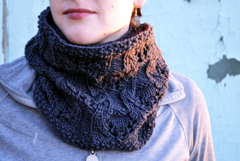 Download Caroline scarf cowl - Knitting Patterns immediately at Makerist