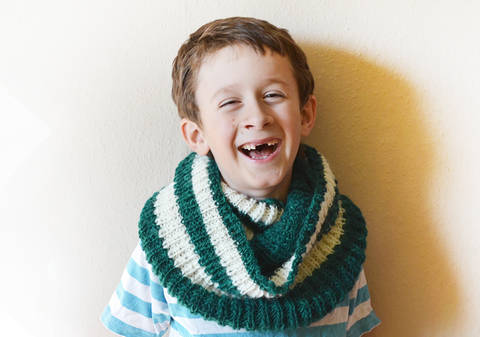 Download Silver Lining scarf - Knitting immediately at Makerist
