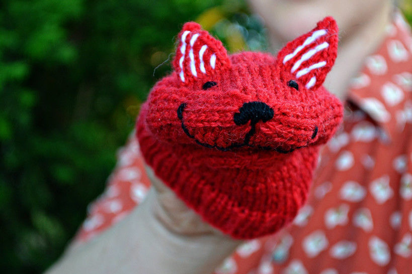 Download FOX handpuppet - Knitting Patterns immediately at Makerist