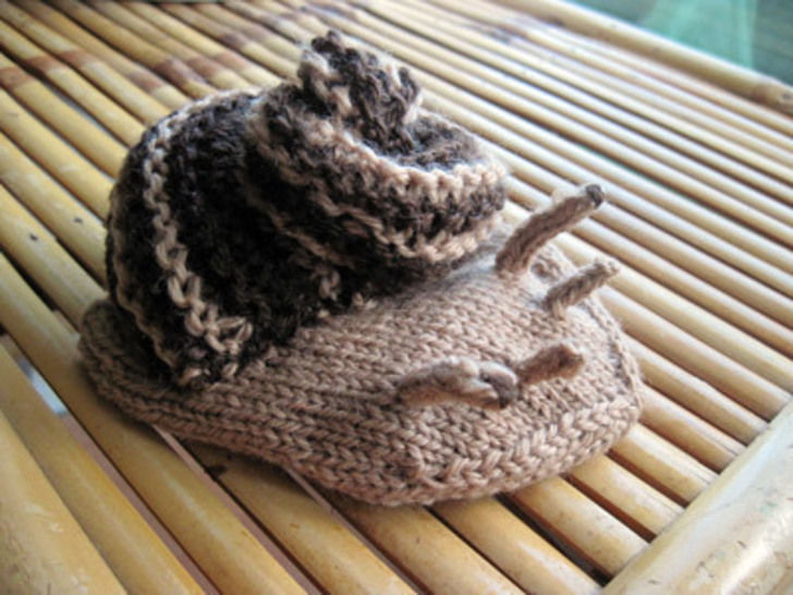 Download SNAIL handpuppet - Knitting Patterns immediately at Makerist