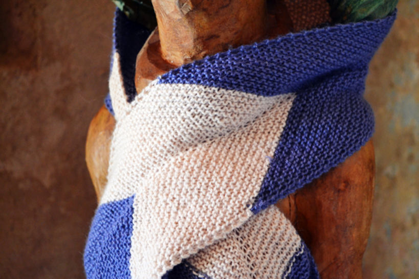 Download Fast Forward scarf - Knitting Patterns immediately at Makerist