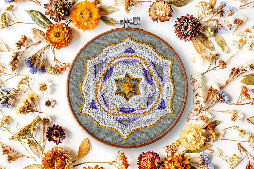 Download STAR mandala - Embroidery Patterns immediately at Makerist