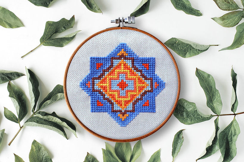 Download geometry 3 - Embroidery Patterns immediately at Makerist