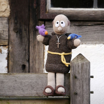 Download Puppet St. Francis of Assisi, knitting pattern - Knitting Patterns immediately at Makerist