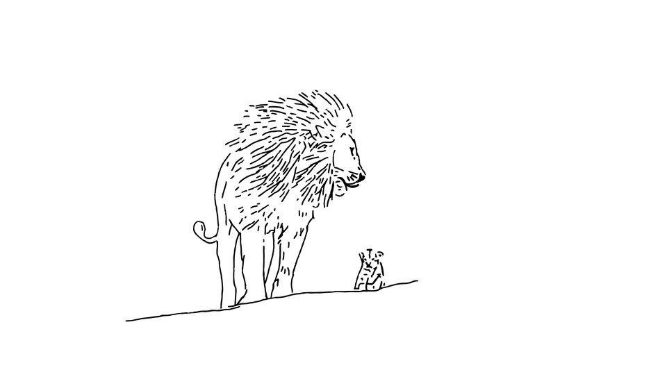 Plotterdatei > Papa Löwe < Plottermotiv - Plotterdateien bei Makerist sofort runterladen