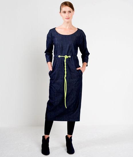 Schnittmuster und Nähanleitung Kleid Lea - Nähanleitungen bei Makerist sofort runterladen