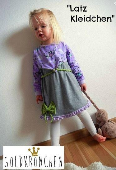 Latz Kleidchen Ebook Gr.62/68-134/140 - Nähanleitungen bei Makerist sofort runterladen