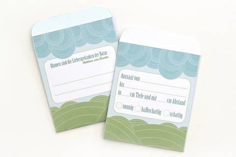 Ebook Blumensamentütchen pdf zum Selberdrucken bei Makerist sofort runterladen