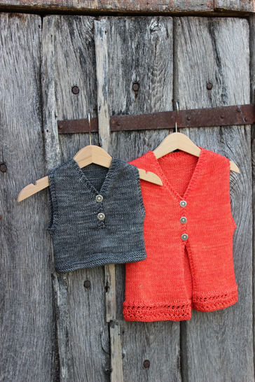 Download Sleevelessbaby vest - Plic Ploc - 3-36 months - Knitting - Knitting Patterns immediately at Makerist