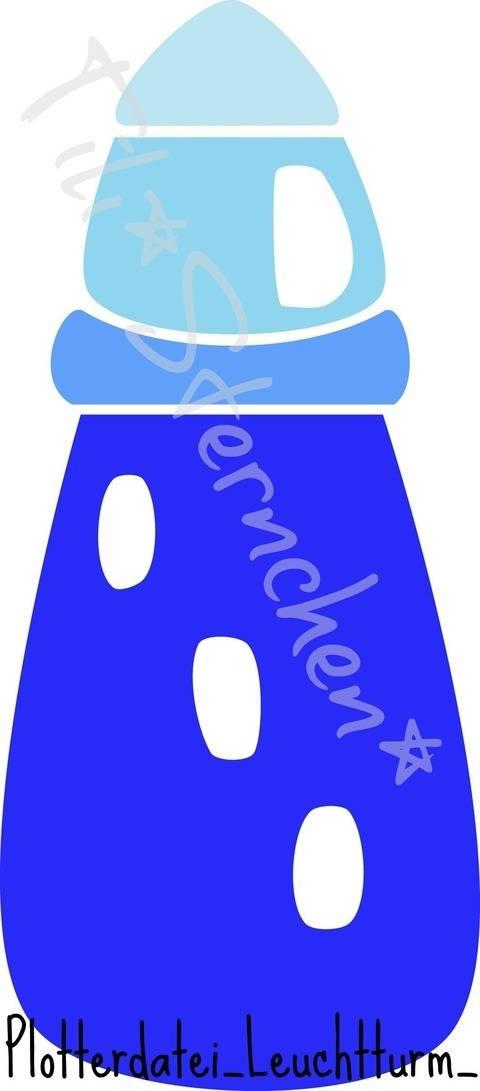 Plotterdatei > Leuchtturm < Plottermotiv bei Makerist sofort runterladen