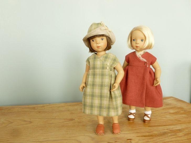 Télécharger Habits poupée - Comme une image - poupée 34 cm Minouche, Amigas, Chéries - couture et tricot - Patrons de couture tout de suite sur Makerist