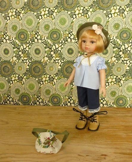Télécharger Habits poupée - Jeannette - 5 pièces - poupée 32 cm, Amigas, Chéries - couture et tricot - Patrons de couture tout de suite sur Makerist
