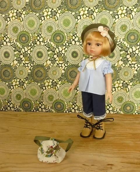 Télécharger Habits poupée - Jeannette - 5 pièces - poupée 32 cm, Amigas, Chéries - couture et tricot tout de suite sur Makerist