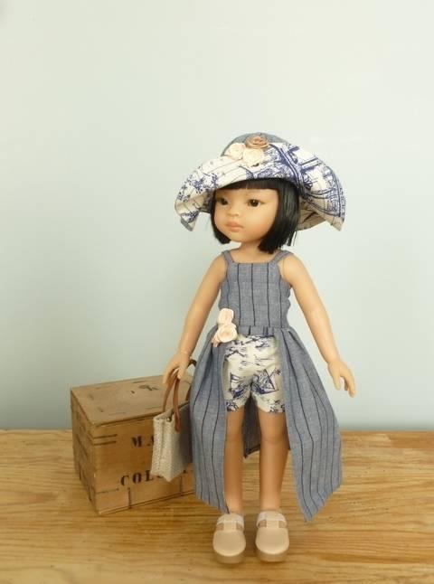 Télécharger Habits poupée - La Baule - 5 pièces - poupée 32 cm , Amigas, Chéries - couture et tricot tout de suite sur Makerist