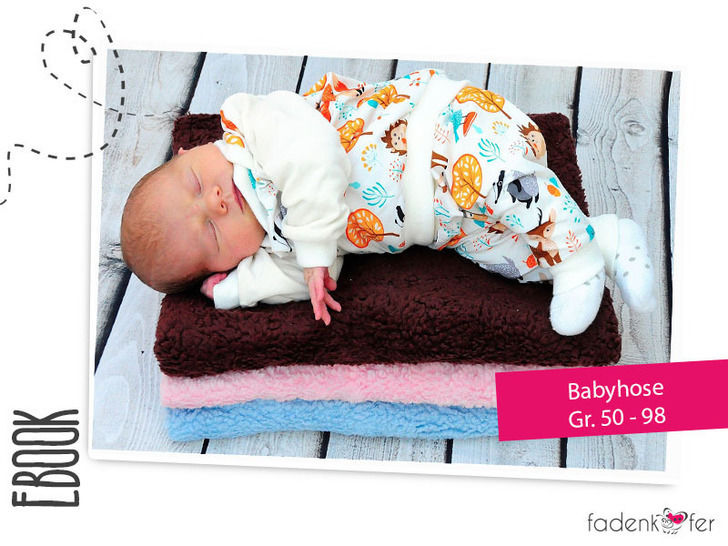 Download eBook Baby Pants  –  Sizes 50- 98 / newborn - 3 - Sewing - Sewing Patterns immediately at Makerist