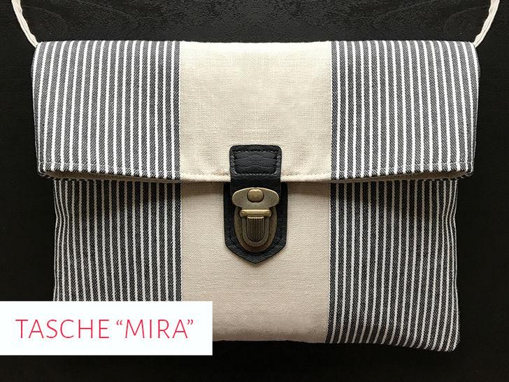 "Schnittmuster & Nähanleitung Handtasche ""Mira"" - Nähanleitungen bei Makerist sofort runterladen"