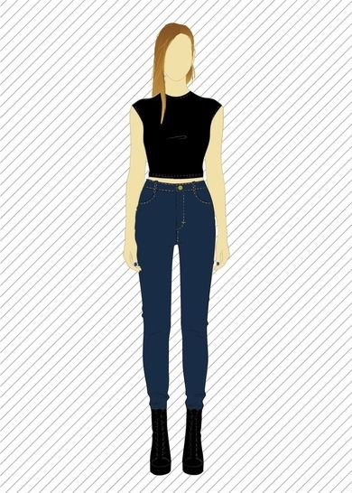 8f4ad2068 Download TR803 Skinny jeans - PDF sewing pattern - Sewing Patterns  immediately at Makerist