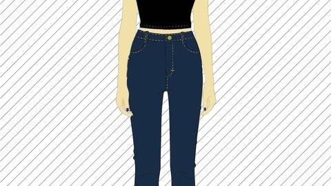 Sewing pattern for the stylish \