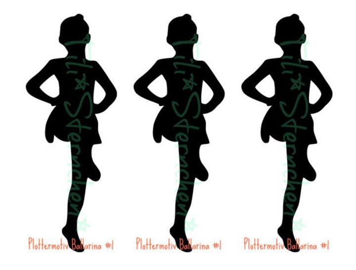 Plotterdatei > Ballerina < Plottermotiv - Plotterdateien bei Makerist sofort runterladen