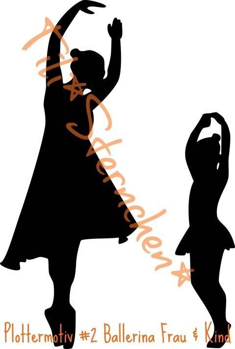 plotterdatei > Ballerina < Plottermotiv bei Makerist sofort runterladen