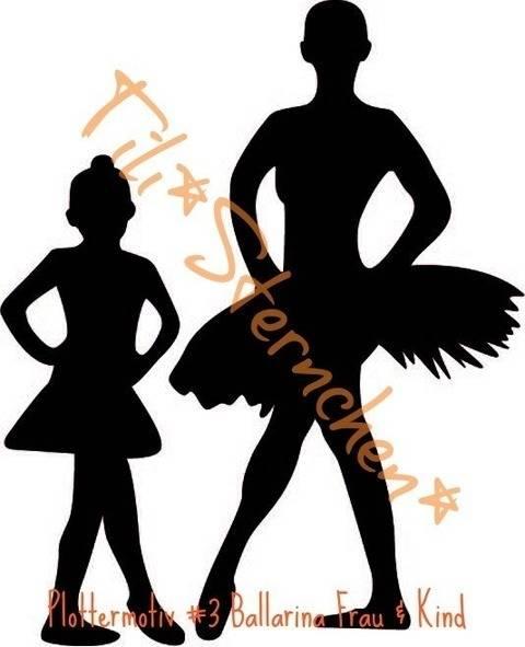 Plotterdatei > Ballerina_stehend < Plottermotiv bei Makerist sofort runterladen
