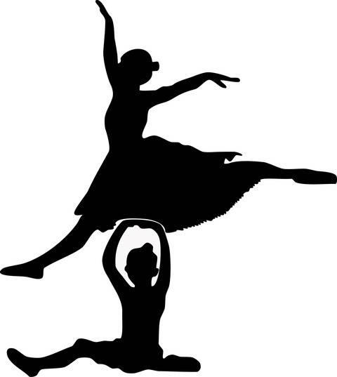 Plotterdatei > Ballerina_springen < Plottermotiv bei Makerist sofort runterladen