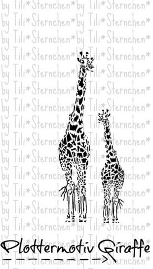 Plotterdatei > Giraffe < Plottermotiv - Plotterdateien bei Makerist sofort runterladen