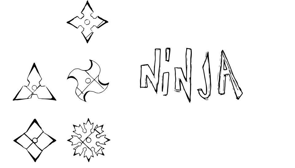 Plotterdatei > Ninja_Stern < Plottermotiv - Plotterdateien bei Makerist sofort runterladen
