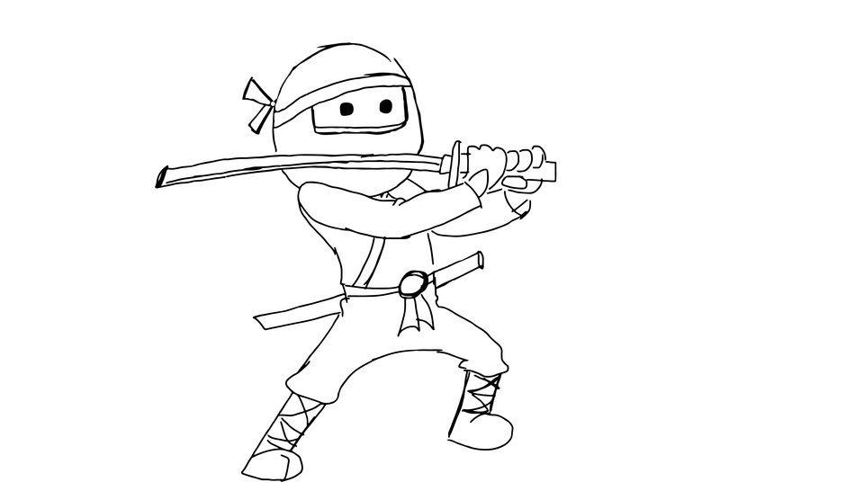Plotterdatei > Ninja_einzeln < Plottermotiv - Plotterdateien bei Makerist sofort runterladen