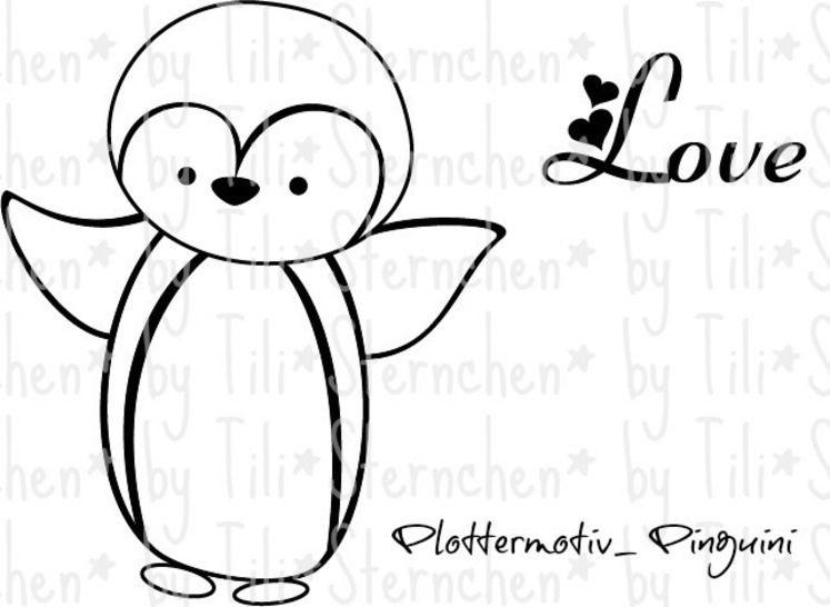 Plotterdatei > Pinguini < Plottermotiv - Plotterdateien bei Makerist sofort runterladen