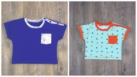 Baby T-Shirt T#1 Nähanleitung und Schnittmuster Gr. 56-92 bei Makerist sofort runterladen